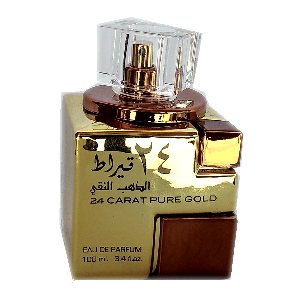 Perfume Árabe Feminino 24 Carat Pure Gold 100 ml - Lattafa